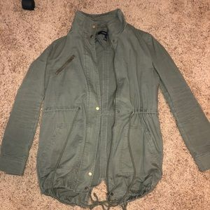 Forever 21 Green Army Jacket